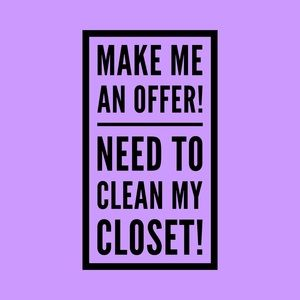 NOW ACCEPTING OFFERS!